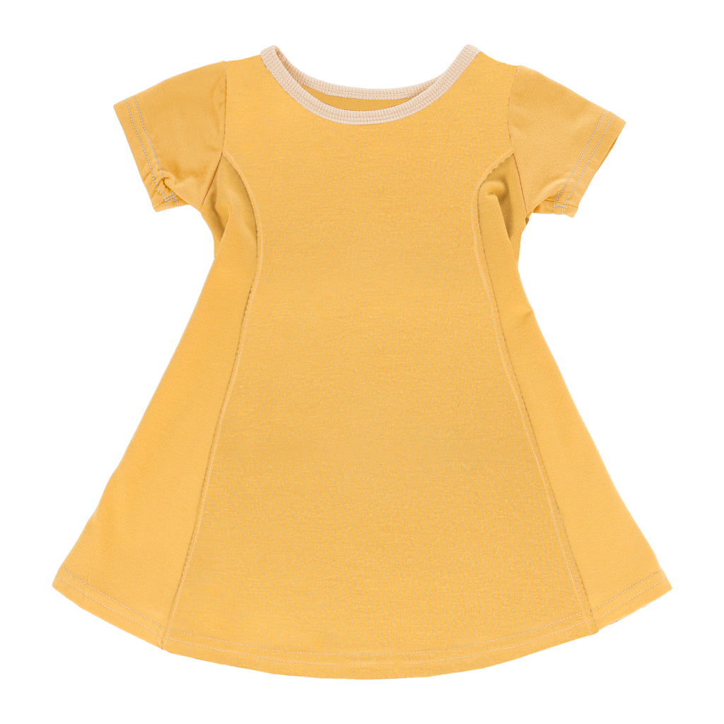 Sunset Swing Dress - Golden