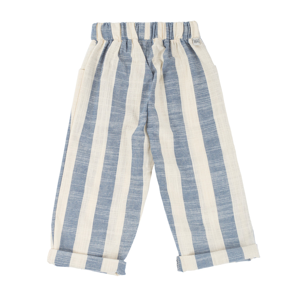 Square Pocket Pant in Castle Rock Stripe