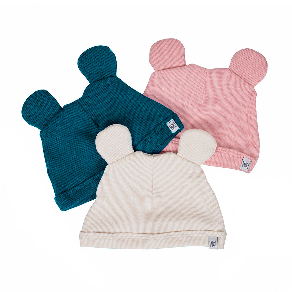 Mouse Ear Newborn Hat | Will & Ivey