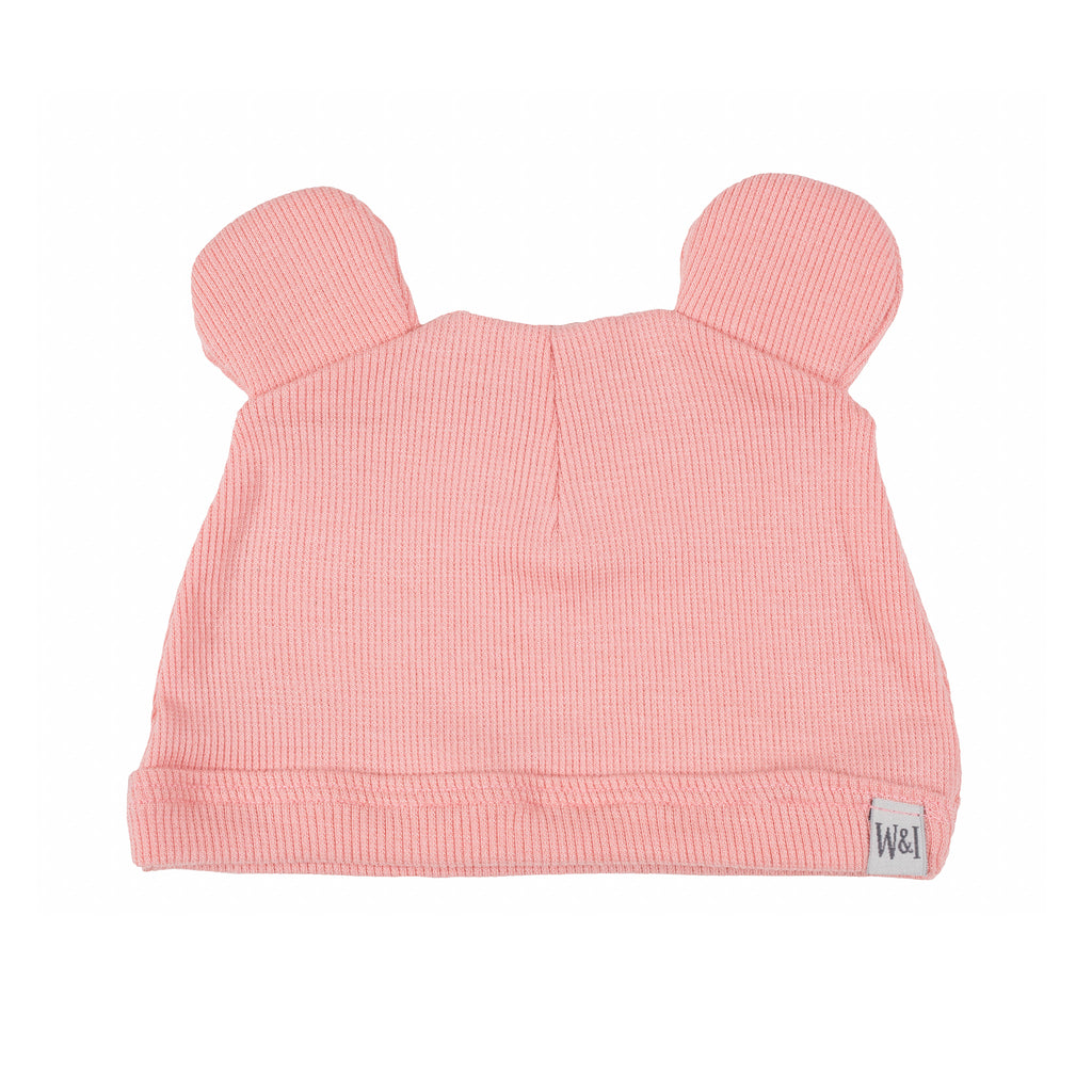 Mouse Ear Newborn Hat