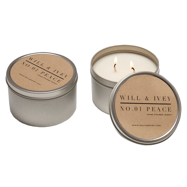 Peace Candle - Tin | Will & Ivey