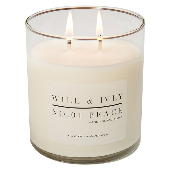 Peace Candle - Glass | Will & Ivey