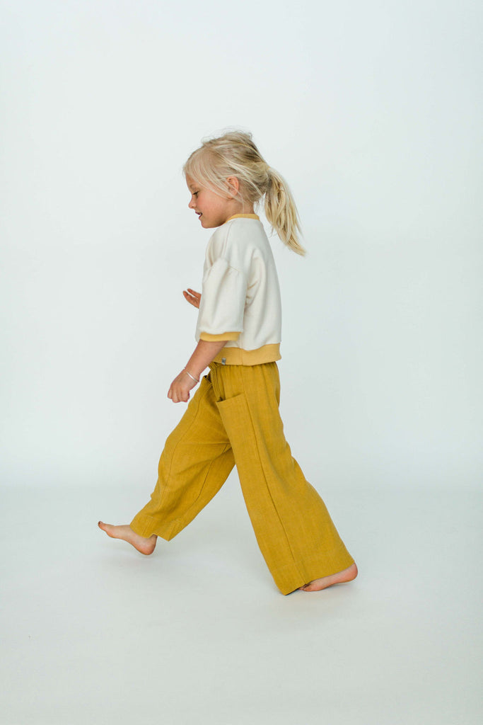 Flare Pocket Pant - Golden | Will & Ivey