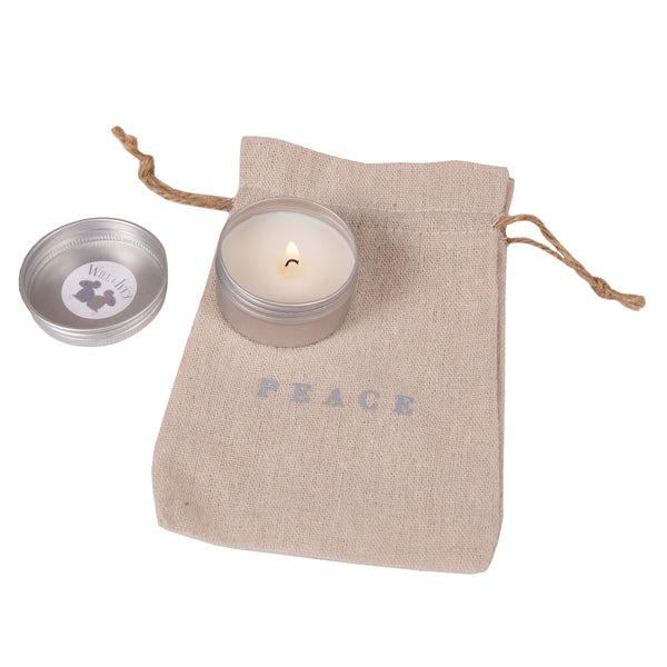 Peace Candle Mini Tin 1.5 oz