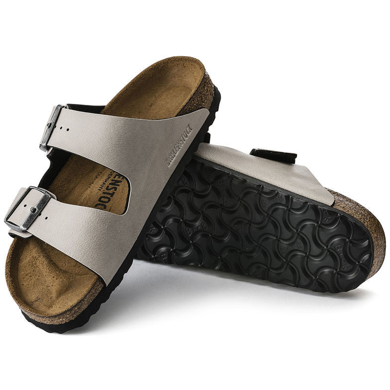 The Birkenstock Arizona Birko-Flor - Pull Up Stone Women's Clothing - Shoes from Birkenstock at Shop Southern Roots TX