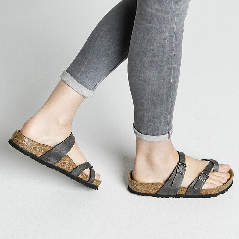 6be0b36f662 The Birkenstock Mayari Birko-Flor - Pull Up Anthracite Women s Clothing -  Shoes from Birkenstock · Women s Clothing - Shoes