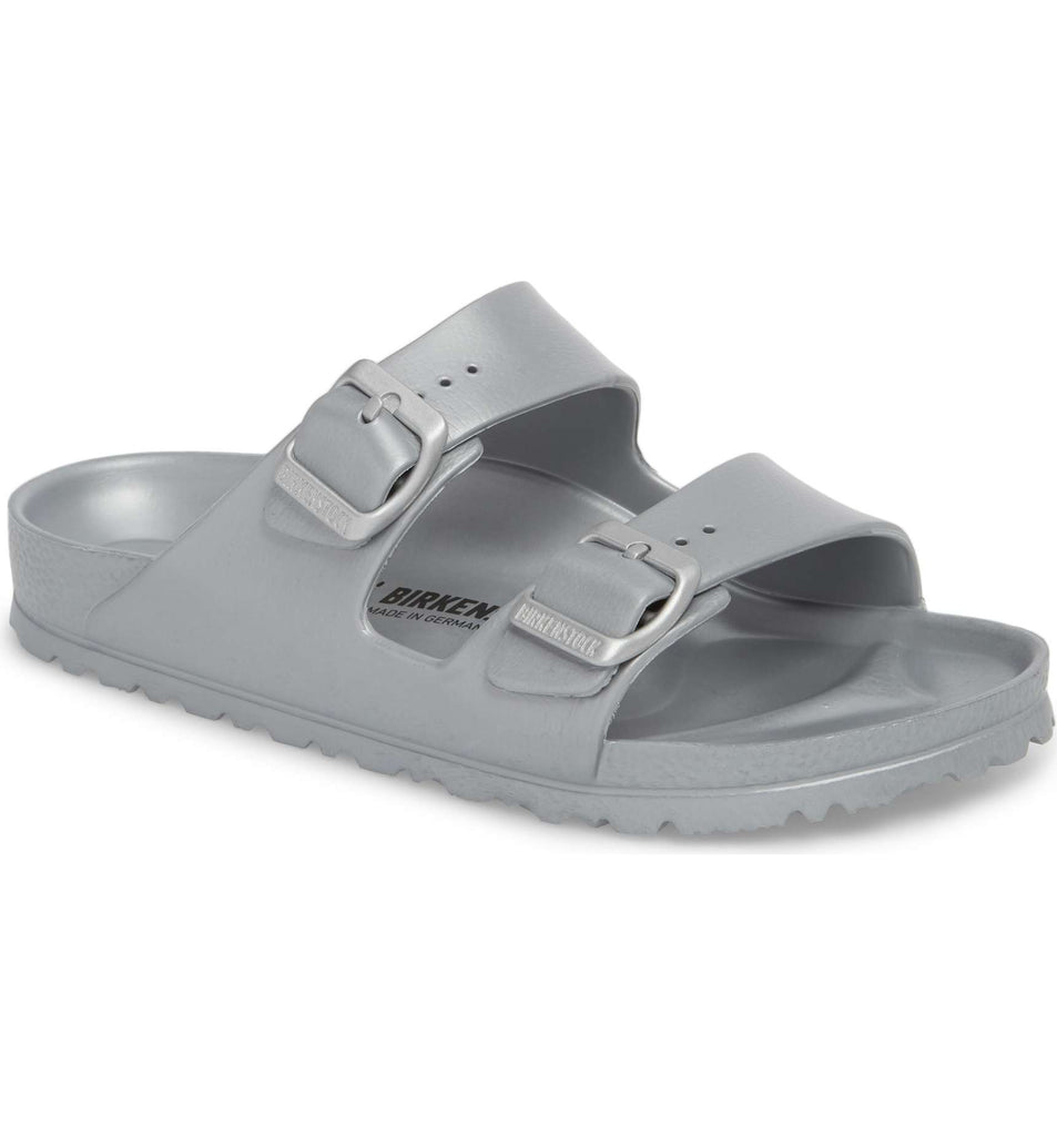 The Birkenstock Arizona Essentials EVA - Silver Women's Clothing - Shoes from Birkenstock at Shop Southern Roots TX