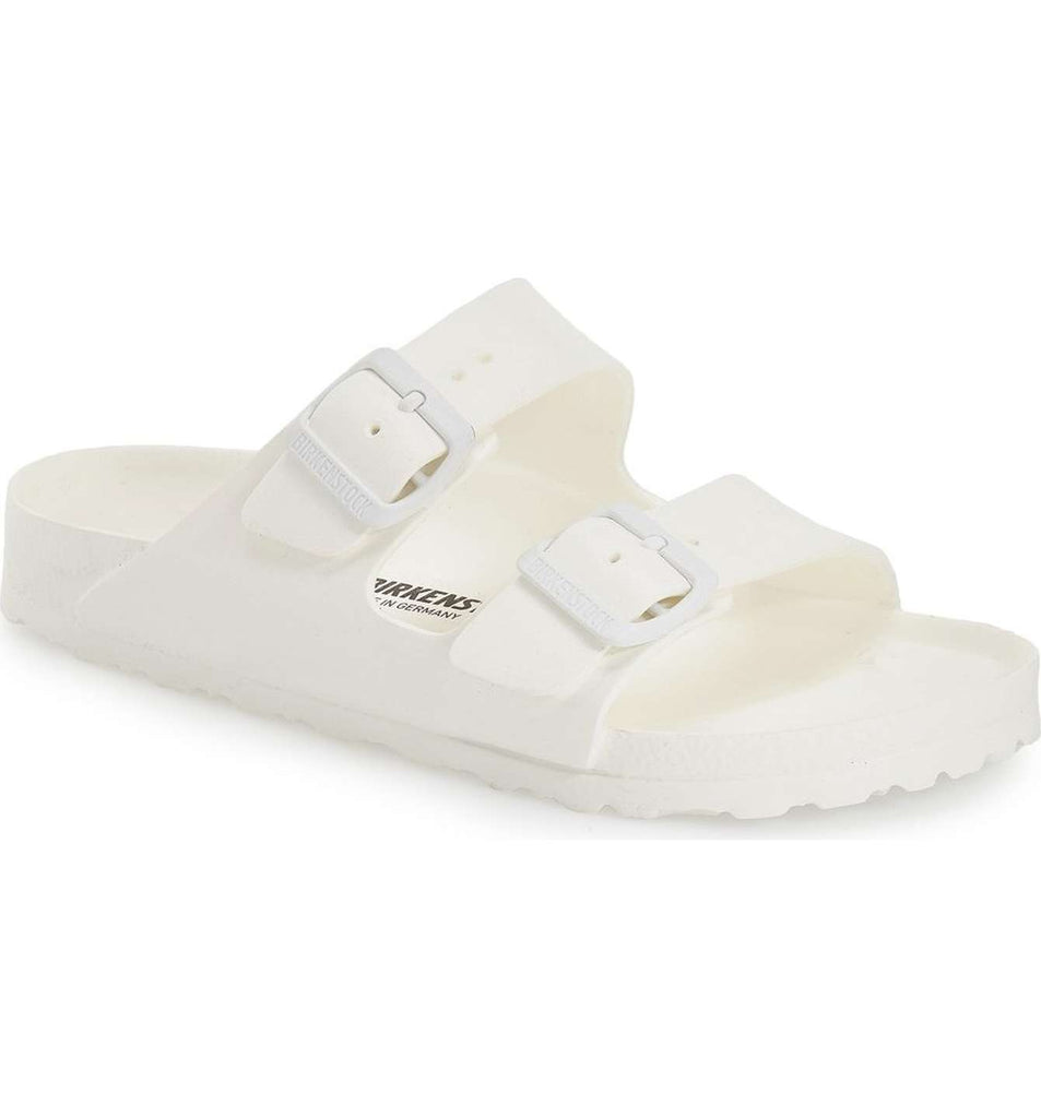 The Birkenstock Arizona Essentials EVA - White Women's Clothing - Shoes from Birkenstock at Shop Southern Roots TX