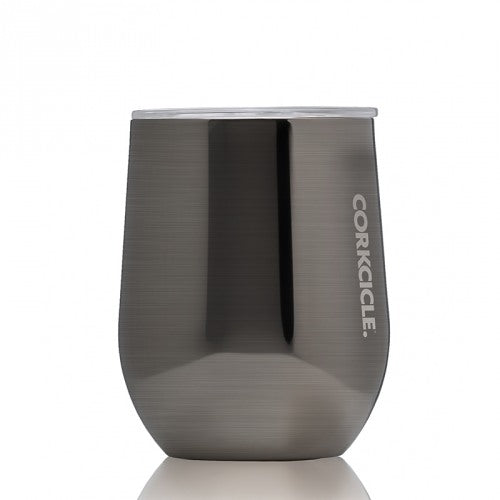 The CORKCICLE 12 oz. Stemless Tumbler - Gunmetal Stemless Wine Glasses from CORKCICLE at Shop Southern Roots TX