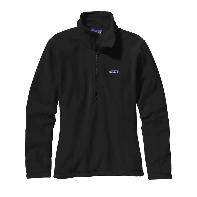 The Patagonia W's Micro D® Fleece Pullover - Black  from Patagonia at Shop Southern Roots TX