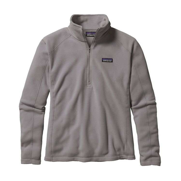 The Patagonia W's Micro D® Fleece Pullover - Feather Grey Women's - Pullovers from Patagonia at Shop Southern Roots TX