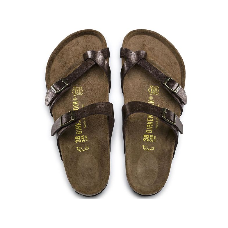 The Birkenstock Mayari Birko-Flor - Graceful Toffee Women's Clothing - Shoes from Birkenstock at Shop Southern Roots TX