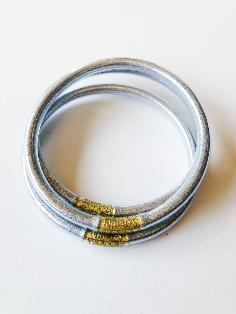 The All Weather Bangle Set of 3 - Silver Jewelry - Bracelet from BuDhaGirl at Shop Southern Roots TX