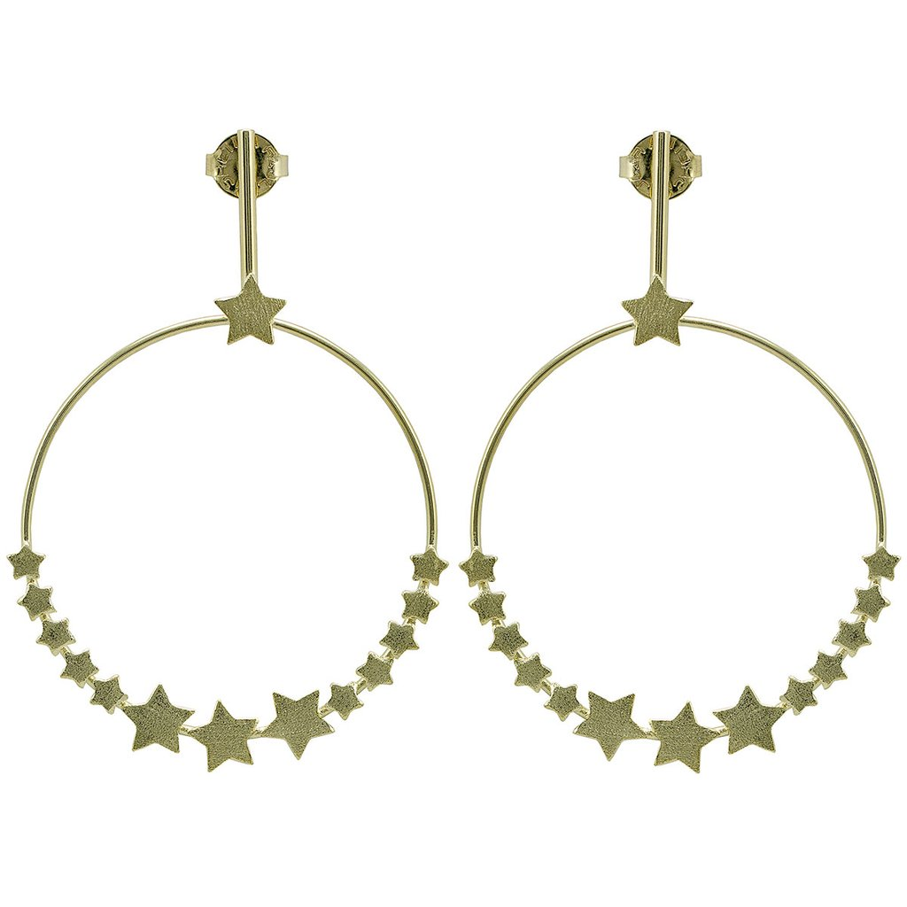 The Carrie Star Earrings - Gold Jewelry - Earrings from Sheila Fajl at Shop Southern Roots TX