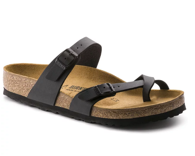 The Birkenstock Mayari Birko-Flor - Black Women's Clothing - Shoes from Birkenstock at Shop Southern Roots TX