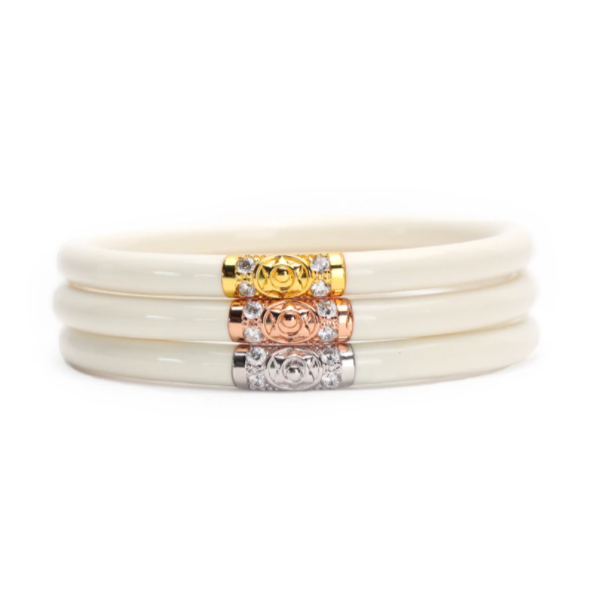 The 3 Kings All Weather Bangle Set of 3 - Ivory Jewelry - Bracelet from BuDhaGirl at Shop Southern Roots TX