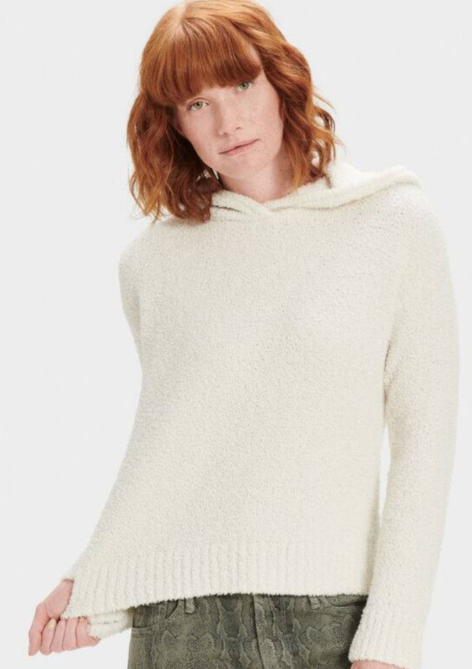 UGG Louise Hooded Pullover - Cream