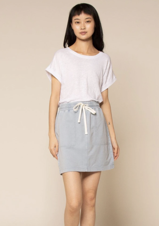 Timber Skirt - Light Denim