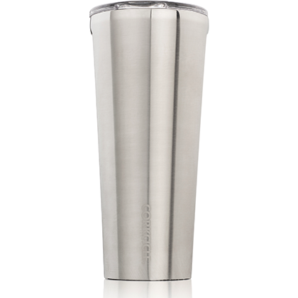 CORKCICLE 24 oz. Tumbler- Brushed Steel