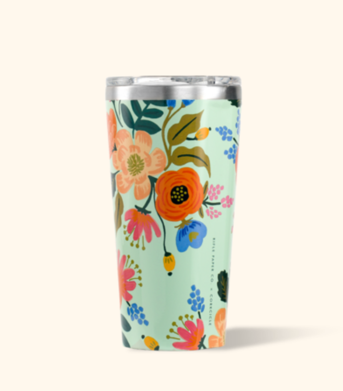 CORKCICLE 16 oz. Tumbler - Rifle Paper Co. Lively Floral