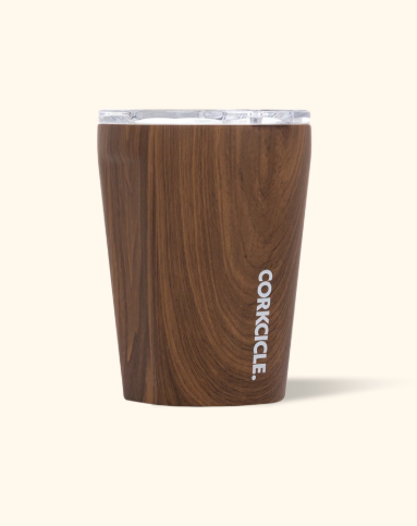 The CORKCICLE 12 oz. Tumbler - Walnut Wood Tumblers from CORKCICLE at Shop Southern Roots TX