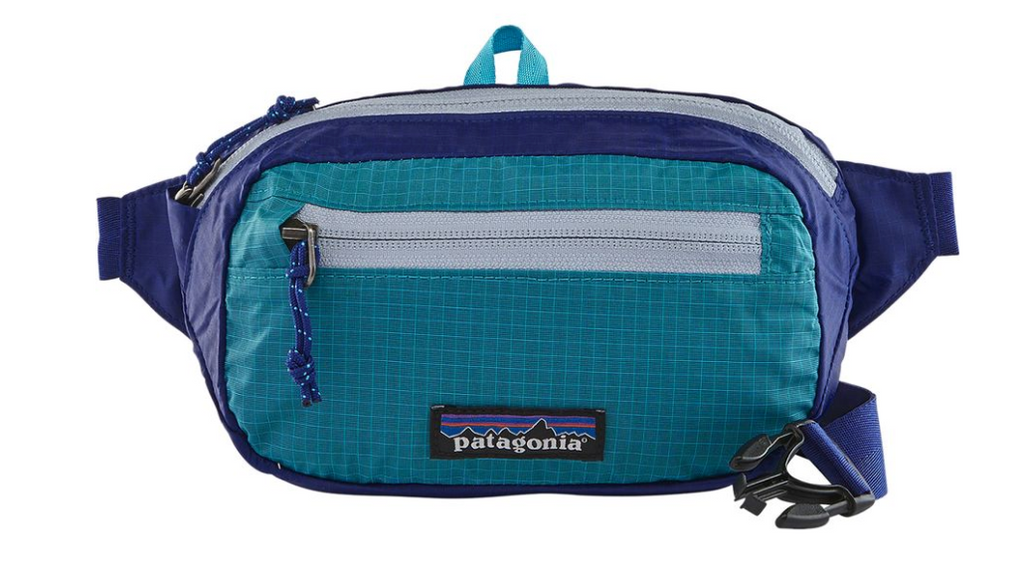 The Patagonia Ultralight Black Hole® Mini Hip Pack 1L - Cobalt Blue Women's Backpacks from Patagonia at Shop Southern Roots TX