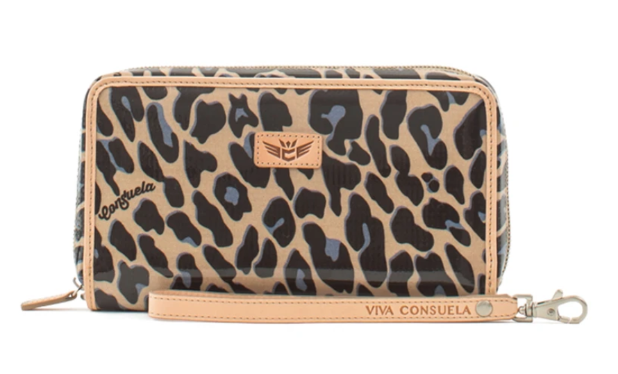 The Consuela Wristlet Wallet - Blue Jag Wallets from CONSUELA at Shop Southern Roots TX