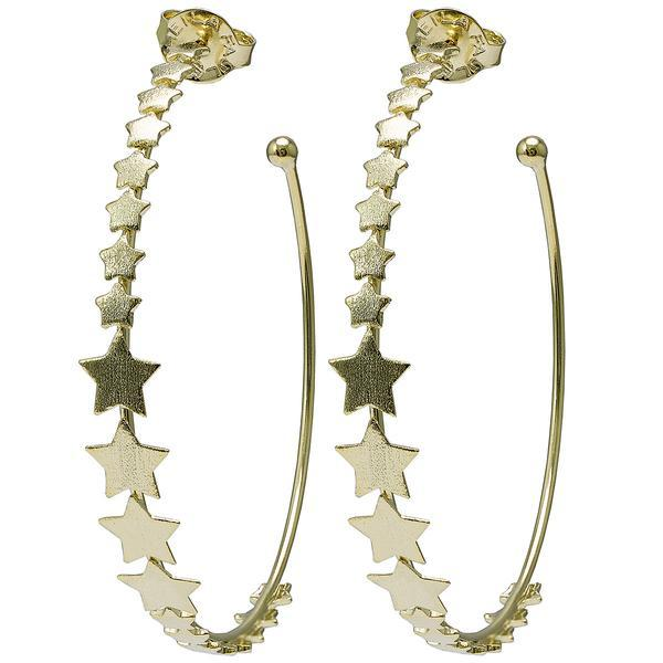 Small Altair Hoops - Gold