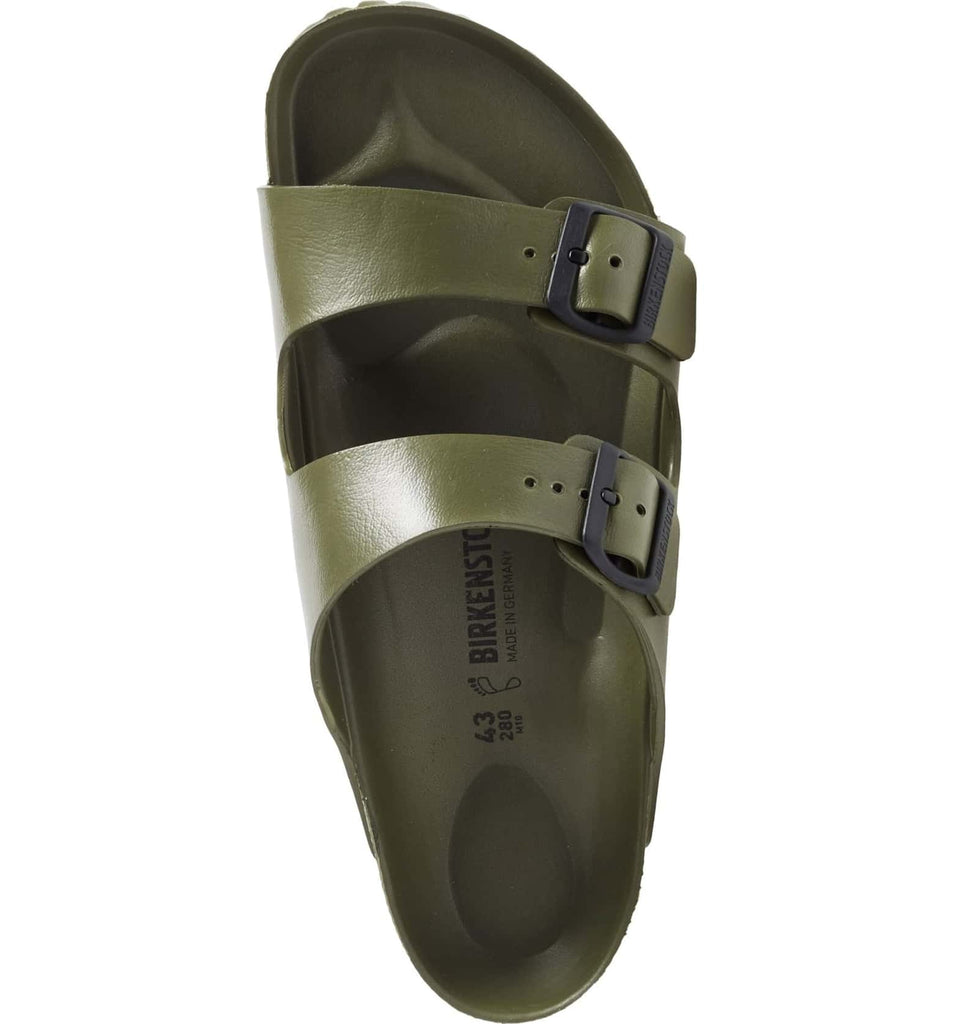The Birkenstock Arizona Essentials EVA - Khaki Men's - Shoes from Birkenstock at Shop Southern Roots TX