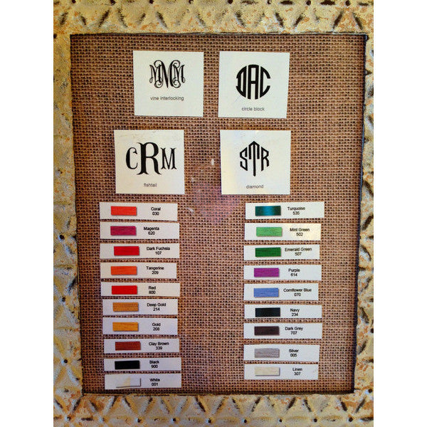 The Monogram Stitching Women's Clothing - Monogram from Shop Southern Roots TX at Shop Southern Roots TX