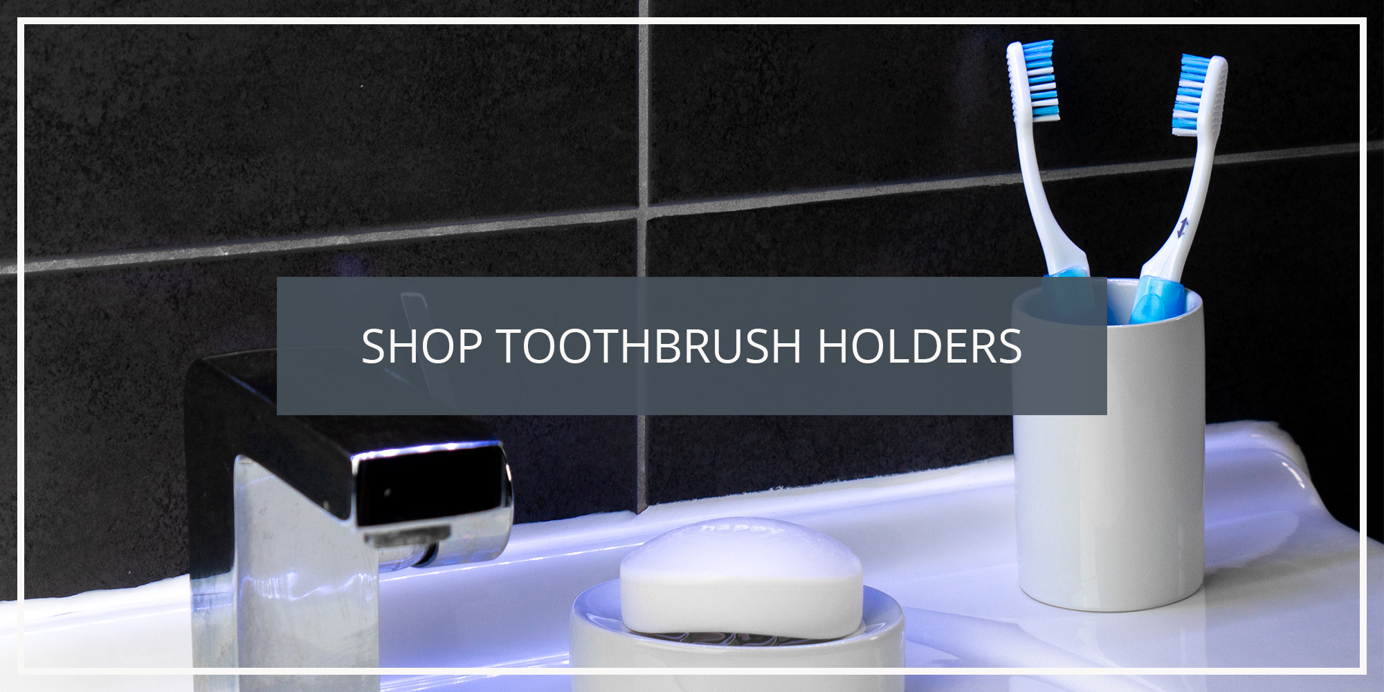 Shop the Harbour Housewares Collection of Toothbrush Holders
