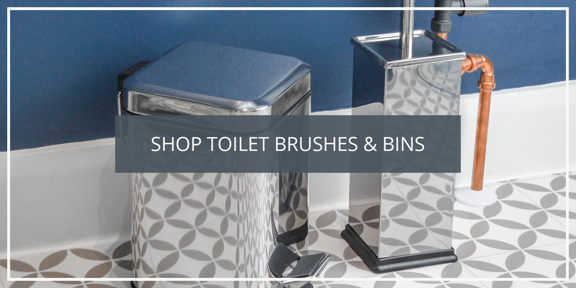 Shop the Harbour Housewares Collection of Bathroom Bins and Toilet Brushes