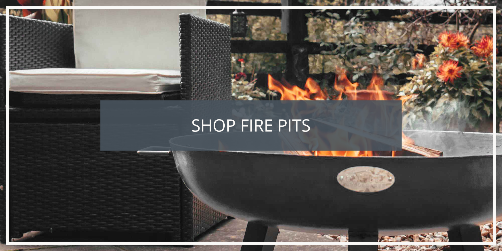 Shop Harbour Housewares Cast Iron Garden Fire Pits and Torches