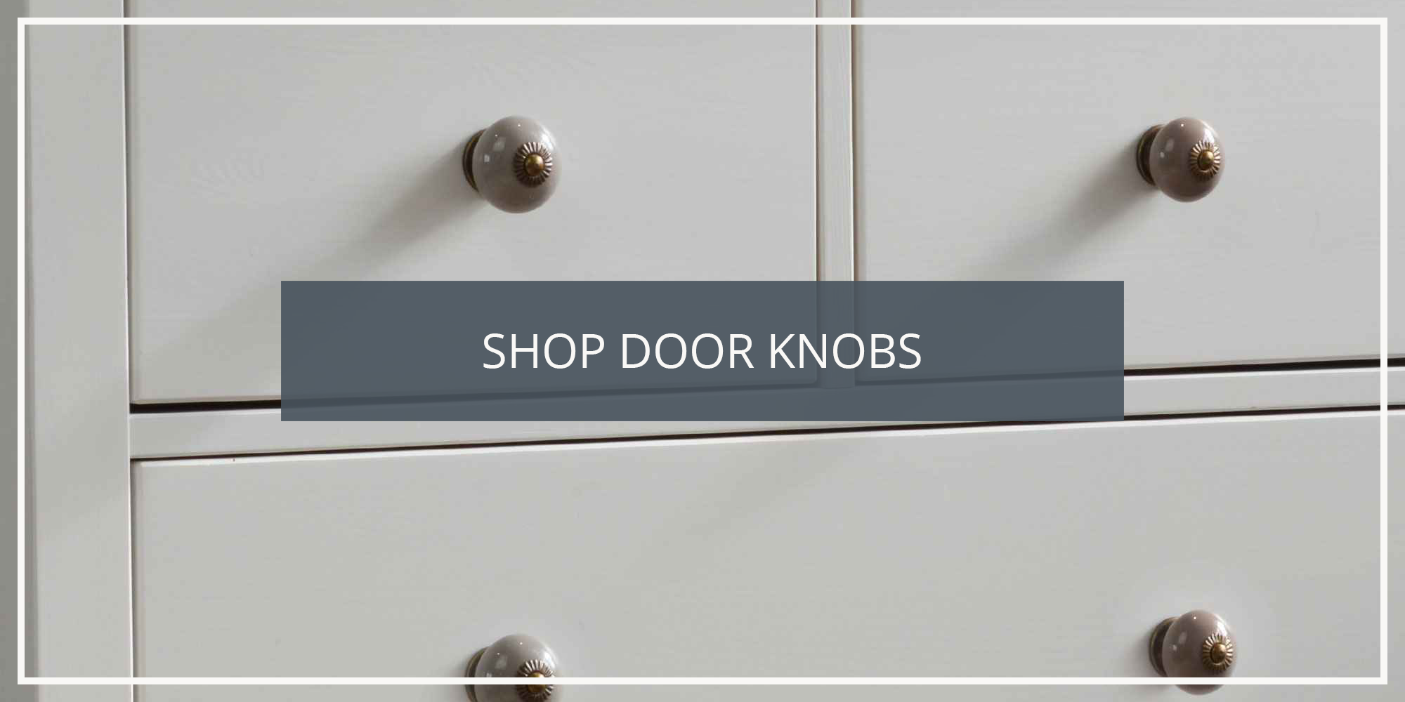 Shop the Nicola Spring Collection of Door and Drawer Knobs