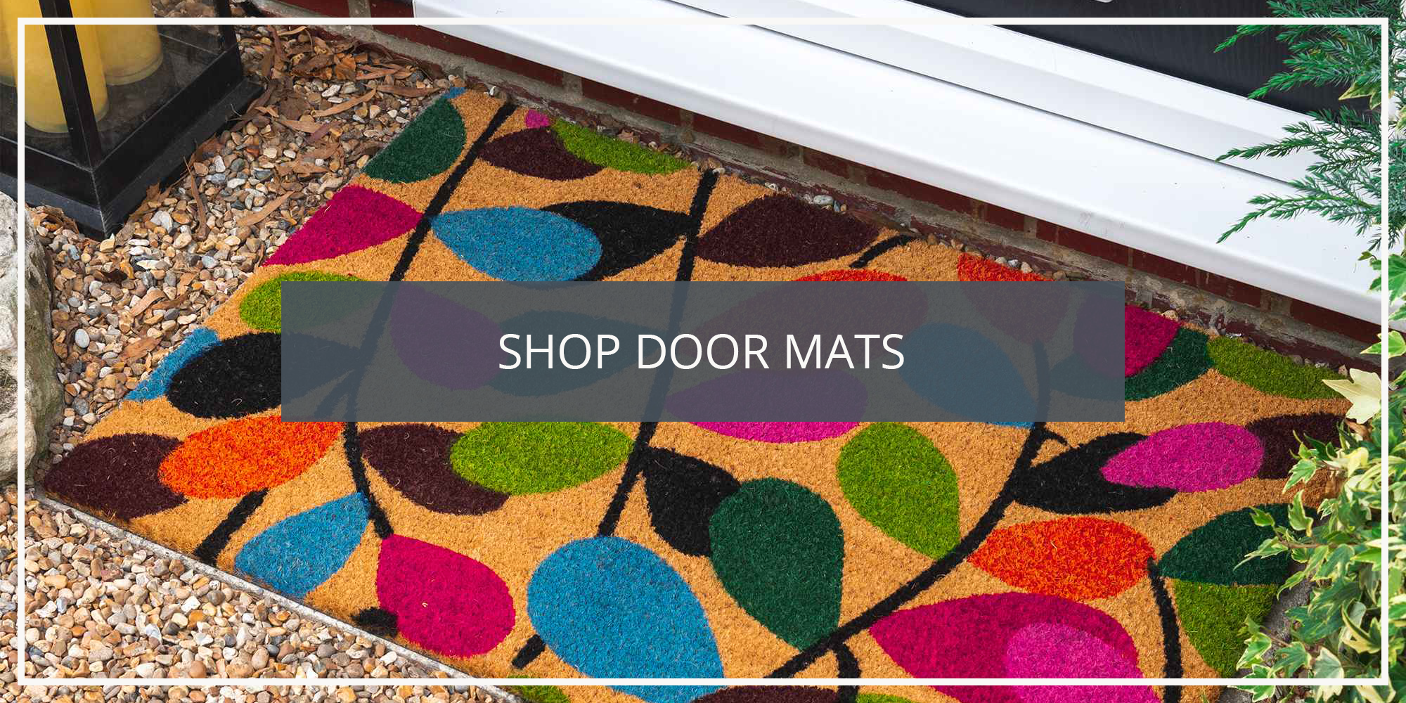 Shop the Nicola Spring Coir Door Mats Collection