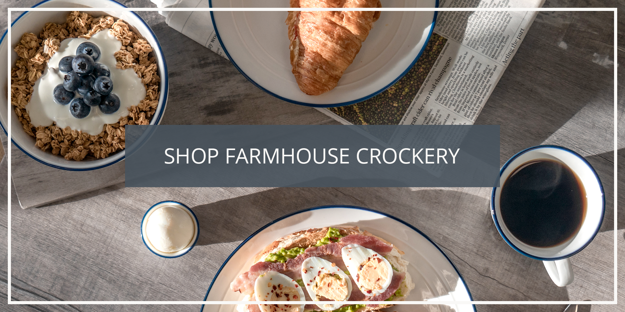 Shop the Nicola Spring Farmhouse Crockery Collection