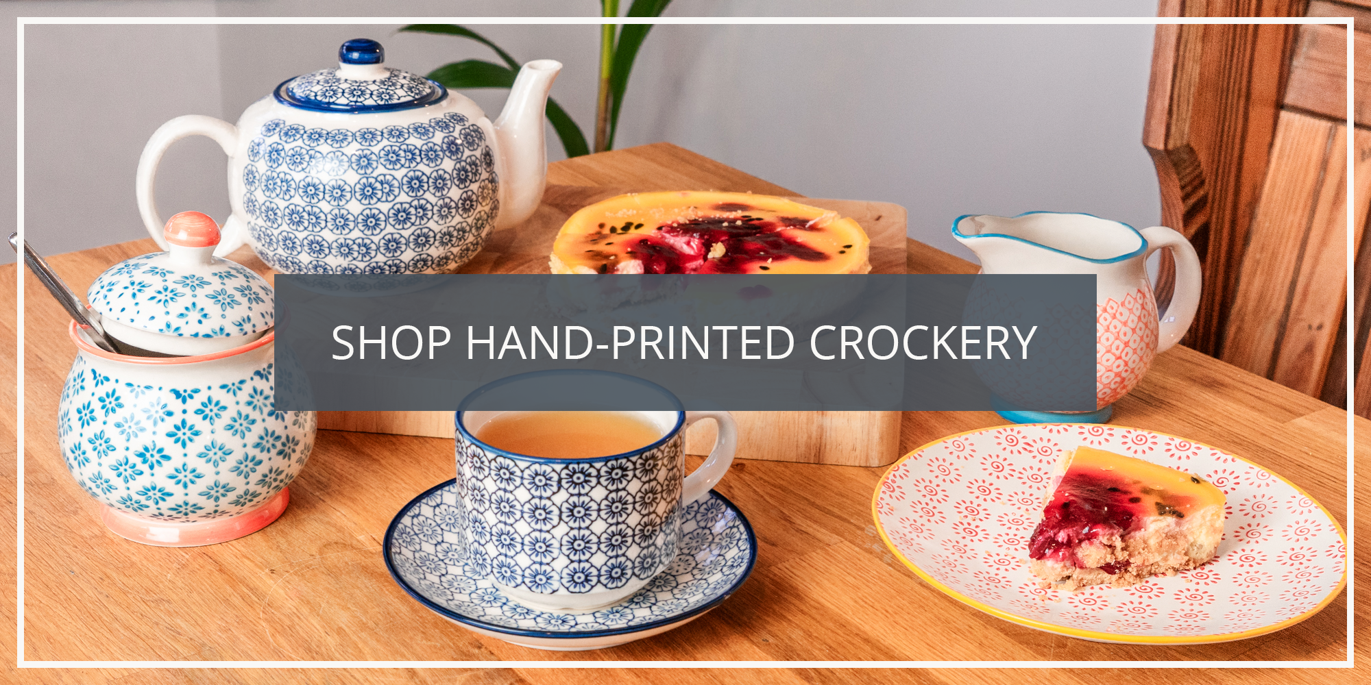 Shop the Nicola Spring Japanese Wabi Sabi Hand Printed Crockery Collection