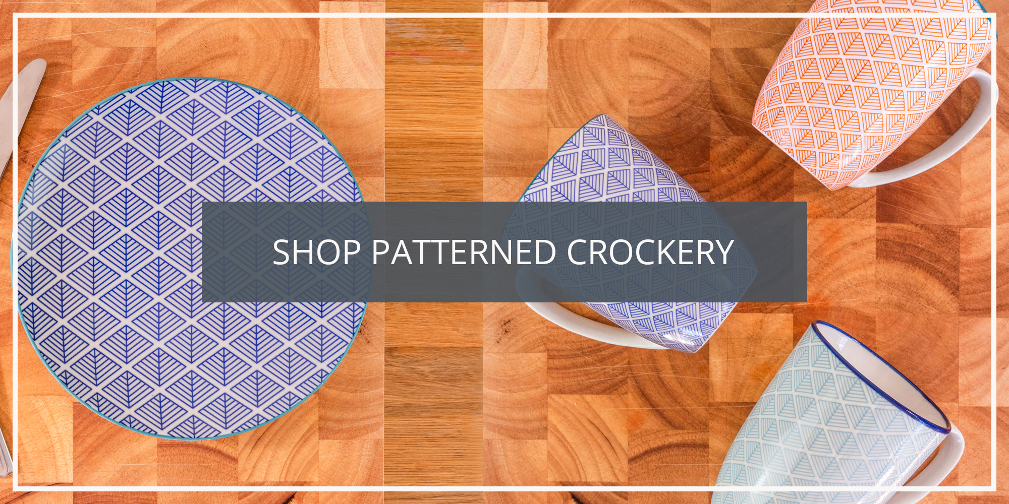 Shop the Nicola Spring Geometric Floral Paisley Patterned Crockery Collection