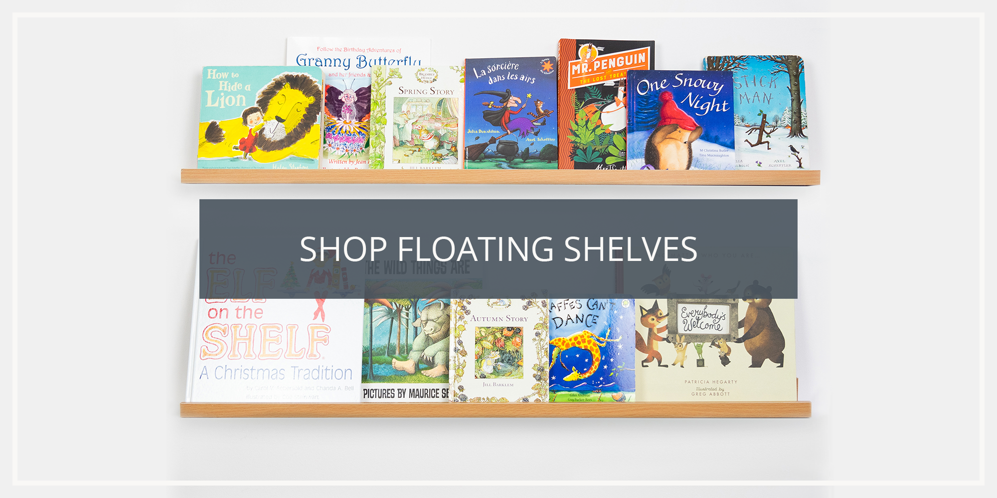 Shop the Harbour Housewares Collection of Wooden and Floating Wall Shelves