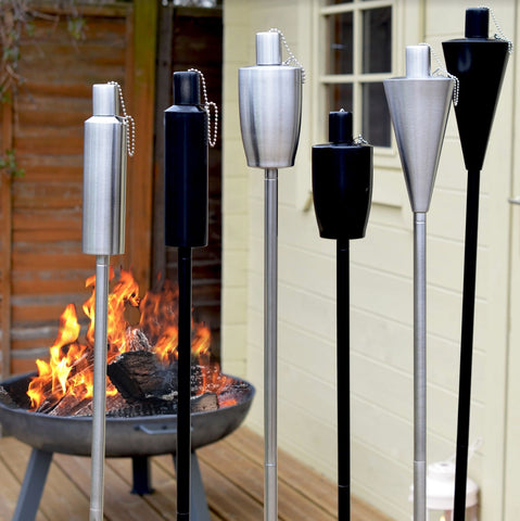 Fire Pits and Garden Torches