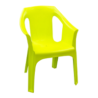 Resol Cool Outdoor Garden Dining Chair Armchair Lime Green