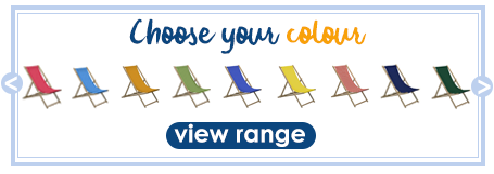 View deck chair range