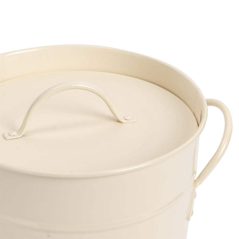Ice Bucket with Lid & Scoop - Cream