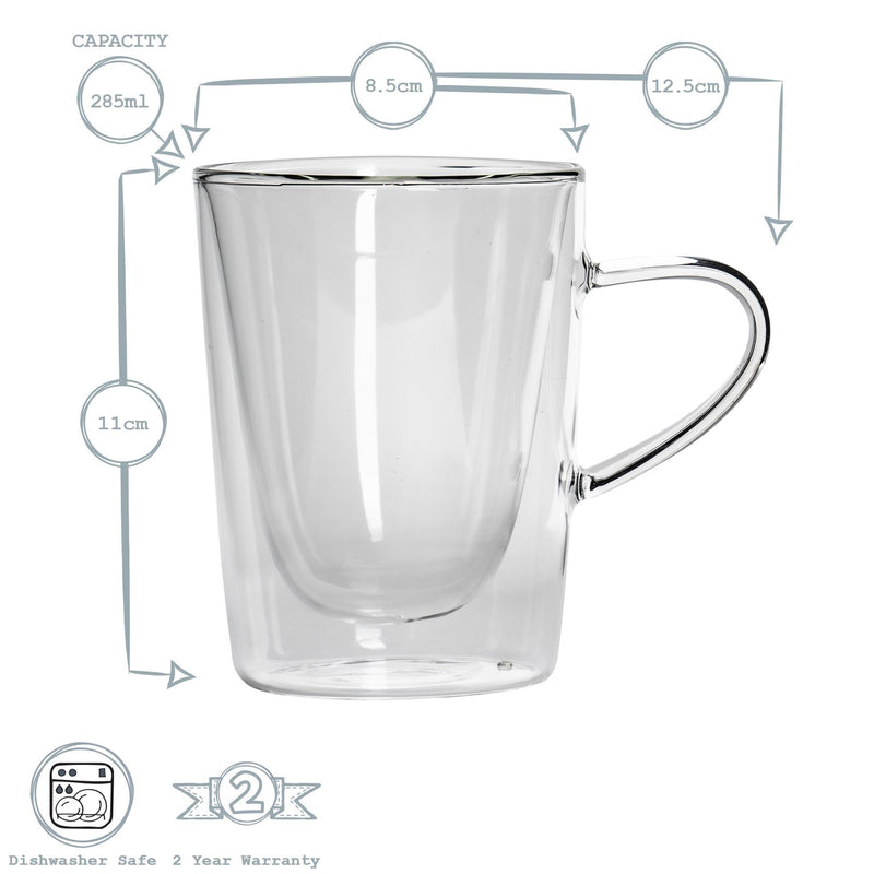 Rink Drink Double Walled Hot Drinks Glasses