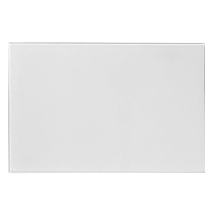 Harbour Housewares Glass Worktop Saver - 30 x 20cm - Clear