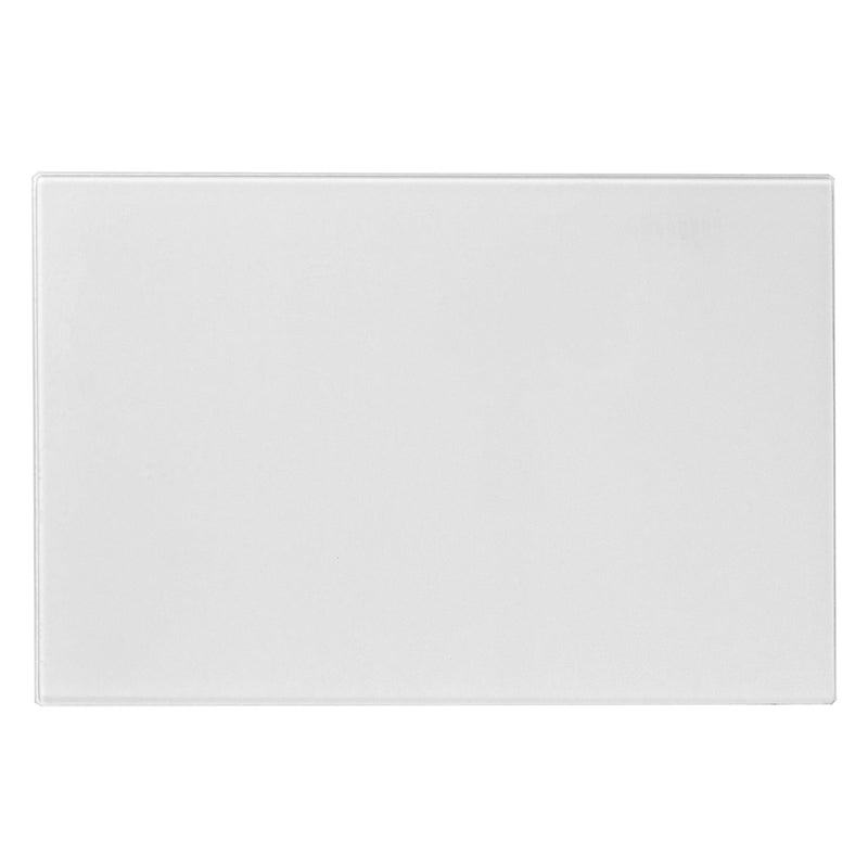 Harbour Housewares Glass Kitchen Chopping Board - 300mm - Clear