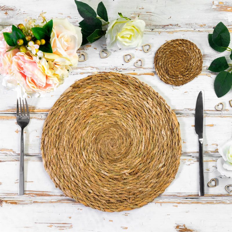 country farmhouse natural tableware