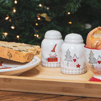Nicola Spring Christmas Salt and Pepper Shakers - Patchwork