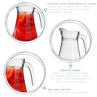 Argon Tableware Brocca Glass Jug for Water & Cocktails