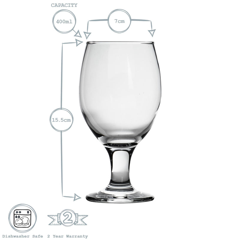 Rink Drink Craft Beer & Ale Glasses - 400ml